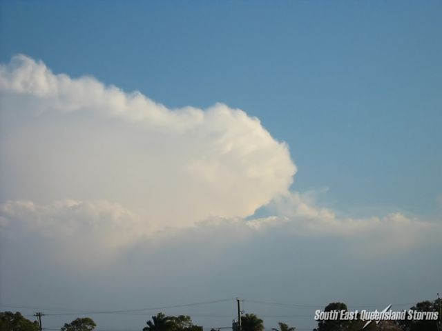 Thick backshearing anvil of the supercell